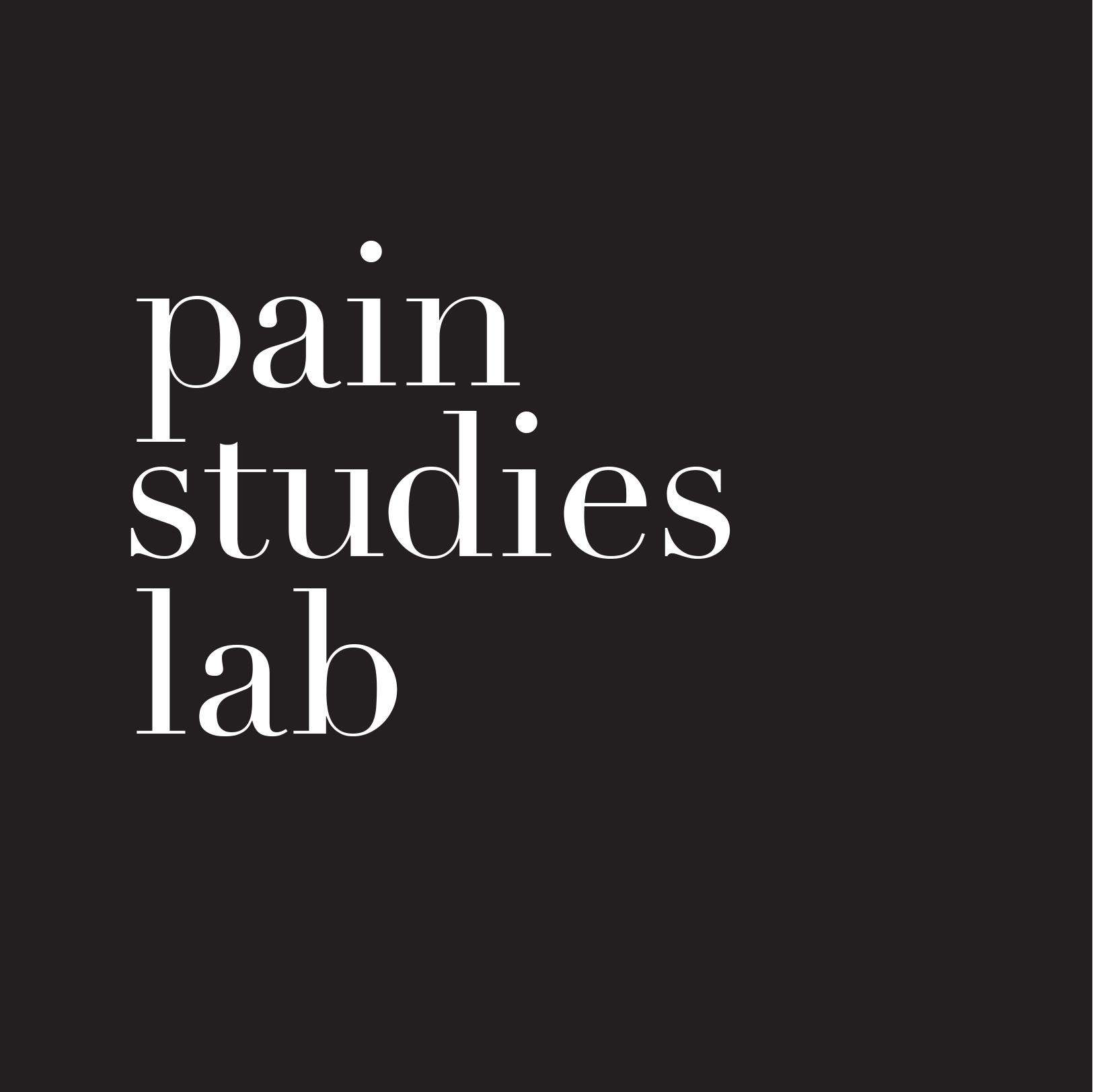 The Pain Studies Lab at SFU